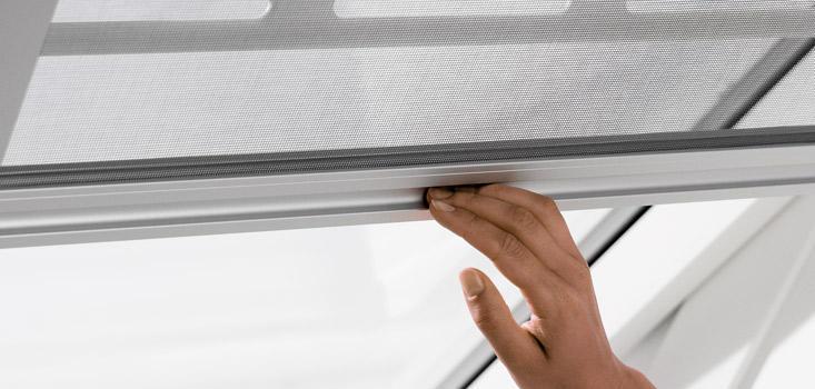 Velux Insektenschutzrollos Velux Fliegengitter Fur Dachfenster